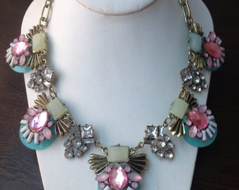 Vintage Amy Statement Necklace