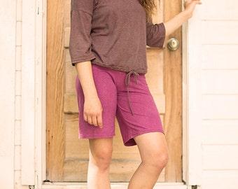 Ruby sand layering shorts