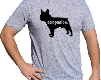 Frenchton Terrier Dog Breed   COMPANION BOY FRENCH bulldog tshirt Dog Lover Shirt   Shirt With A Dog on It   I Love My Dog   Dog Apparel