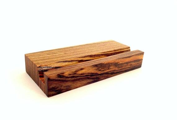 bocote jewelry iphone 6 stand bocote wood