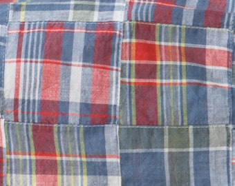 Fabric Finders Madras Plaid Patchwork- 1yard