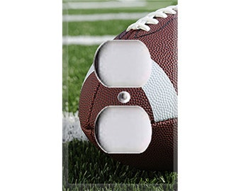 Football Field Outlet Cover