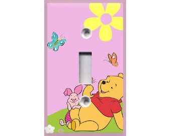 Winnie the Pooh Light Switch Cover