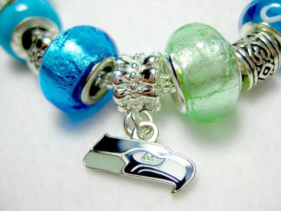 Seattle Seahawks Super Bowl European Style Bracelet