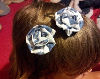 doctor who inspired hair clips
