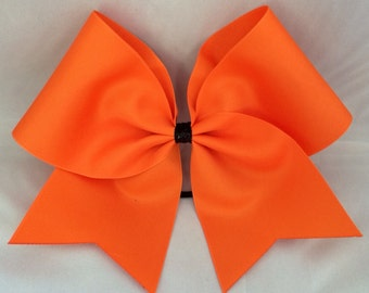 Practice Cheer Bow - Orange