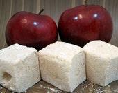 Apple Pie Marshmallows - 1 dozen Gourmet homemade marshmallows