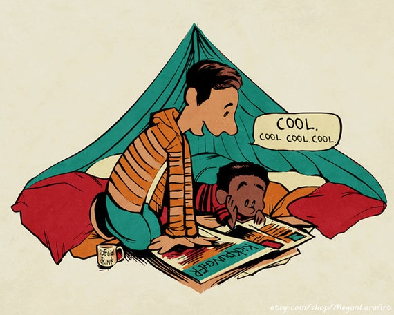 Troy and Abed's Dope Adventures signed art print - 8x10
