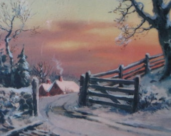 Print Of Gate Road Vintage
