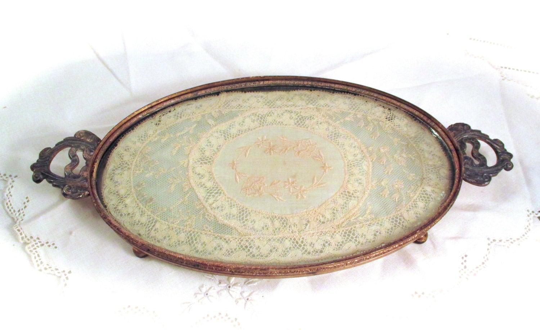 Vintage Brass Tray 50