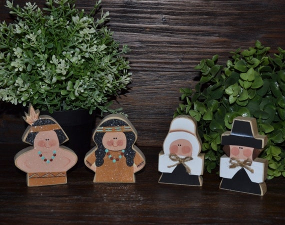 Decorating Ideas > Primitive Thanksgiving Decor Addon Pieces Personalized Fall ~ 070224_Thanksgiving Decorations On Etsy