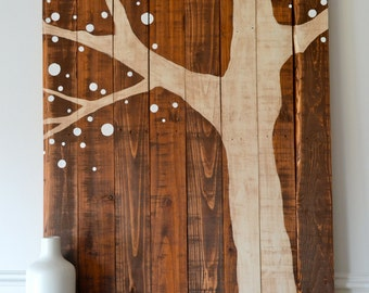 Popular items for reclaimed wood art on Etsy