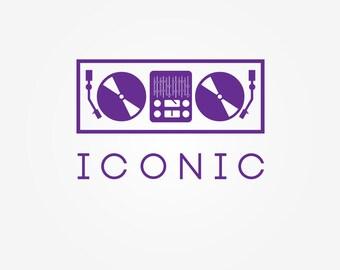 Custom Logo Design Package - 5 Unique Concepts - Professional Business Branding Photography Tech Technology DJ Decks