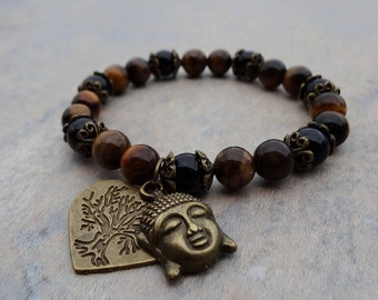 Luck And Good Fortune Agate Amp Tiger S Eye Tree Of Life