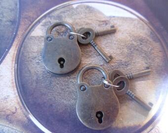 Locks, Padlocks, Small Padlocks, Locks for Boxes, Wine Box Lock, Jewelry Box Lock, Wooden Box Lock, Journal Lock, Small Box Hardware