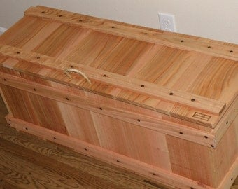 30x11T or 30x17T cedar chest toy storage large wood crate toy chest box blanket hope chest kids room storage gift for her homemade