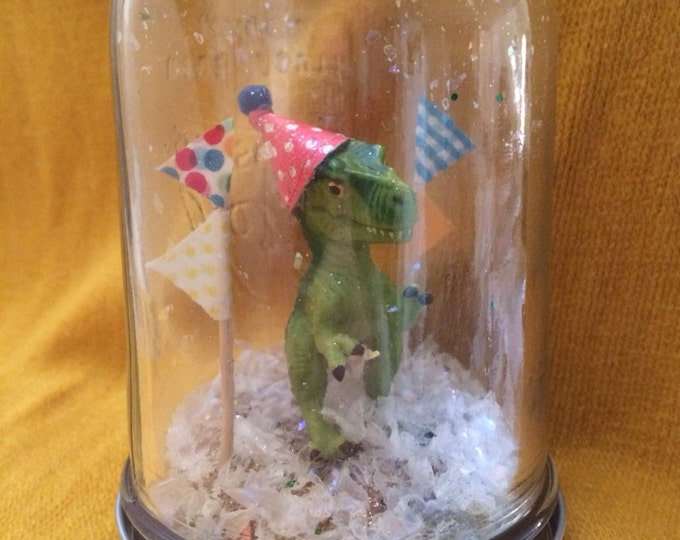 "Party Animal ""Snow Globe"" - Dinosaur!"
