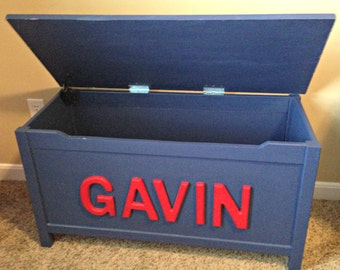 Children's Toy  Chest - Hand Made to Order
