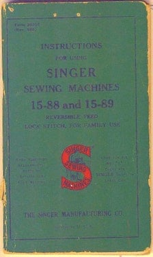 singer ez stitch toy sewing machine instructions