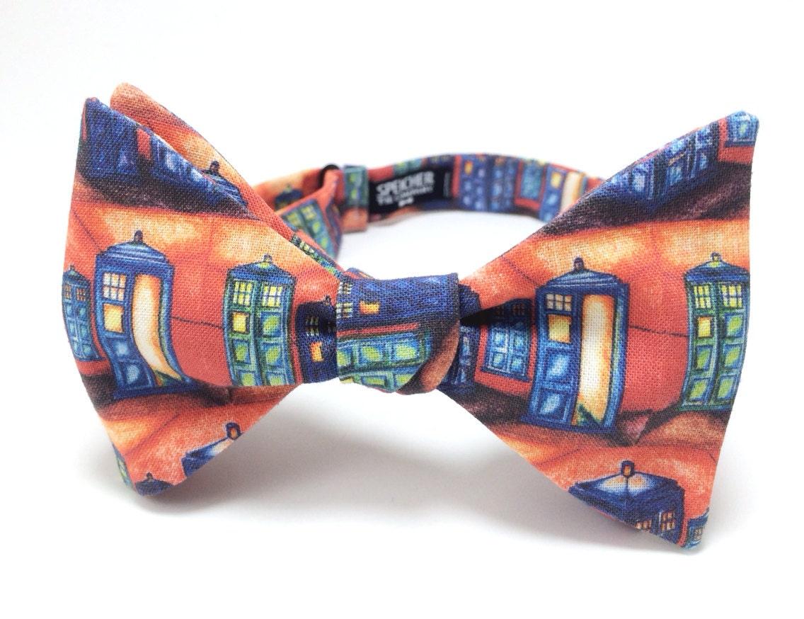 vincent gogh for tardis bow tie bowtie