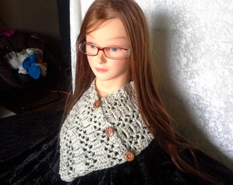 new crochet cowl neck warmer