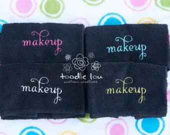 SET OF 2 Makeup remover washcloth. Make up. Make-up. Face. Remove.