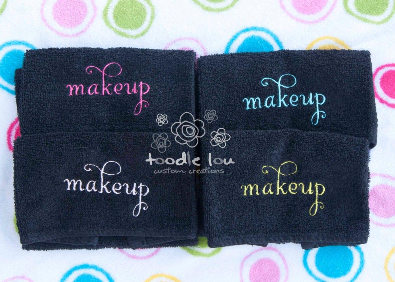 SET OF 2 Makeup Remover Washcloth. Make Up. Make-up. Face.