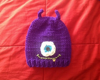 My Little Monster Baby Hat