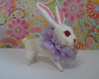 spun cotton white rabbit