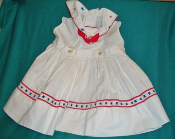 Doll Sailor Dress