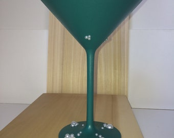 Mermaid Pearls Martini Glass