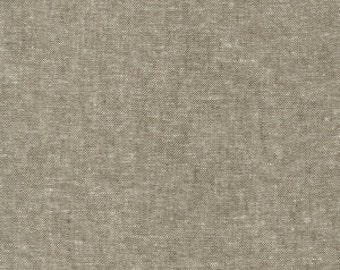 Robert Kaufman Yarn Dyed Essex - Olive - Cotton Fabric