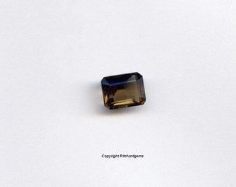 Semi Precious 9X7 mm Emerald Cut Loose Smoky Quartz AAA For One US seller