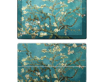 Surface Skin - Blossoming Almond Tree by Vincent van Gogh - Sticker Vinyl Decal - Fits 2, 3, 4, Pro, RT