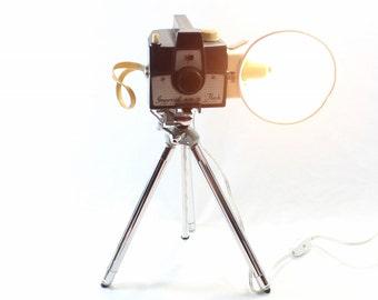 Reading Lamp - Imperial Mark VII Flash on vintage tripod - Floor Lamp