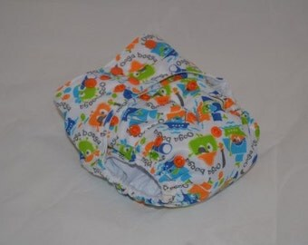 Anniversary Sale Ooga Booga Pirates -OS Pocket Diaper