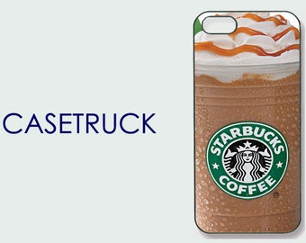 Starbucks Iced Coffee Drink Beverage iPhone 4 4s 5 5s 5c 6 6S 6+ 6 Plus Custom Case Cover Plastic Rubber Silicone SB1