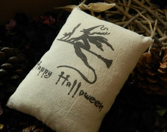 Happy Halloween Witches Vintage Hanging cushion Home Decoration/pumpkin/witch