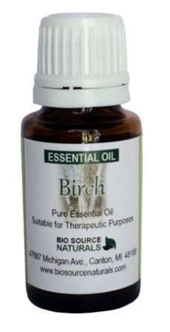 Sweet Birch (Betula lenta) Pure Essential Oil - 1 fl. oz / 30 ml
