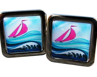 Sailing Cufflinks from an exclusive Trusslers image