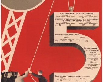 Wall decor, CCCP, Soviet poster, 389