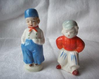 Vintage Dutch Boy Figurines, Made in Japan