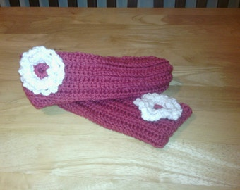Ladies Slippers, Teen Girls Slippers Crocheted