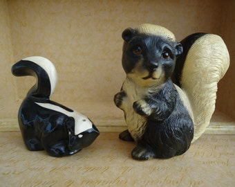 Collectible Skunk Figurines