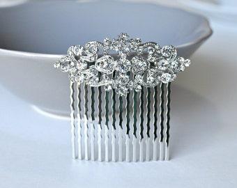 Vintage Inspired bridal hair comb,crystal hair comb,Swarovski hair comb,wedding hair comb,bridal hair accessories,wedding hair, HC009