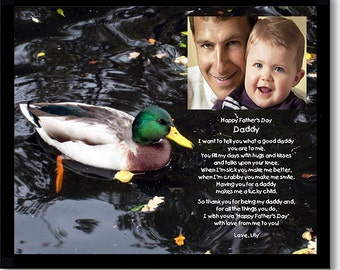 Daddy Gift from Son or Daughter - Happy Father's Day - Add photo after delivery (02-594)