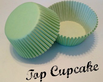 Mint / Light Green Cupcake Liners