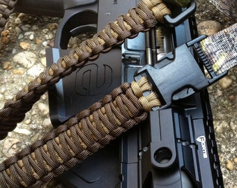 adjustable paracord rifle sling