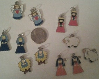 Christmas Nativity Charms