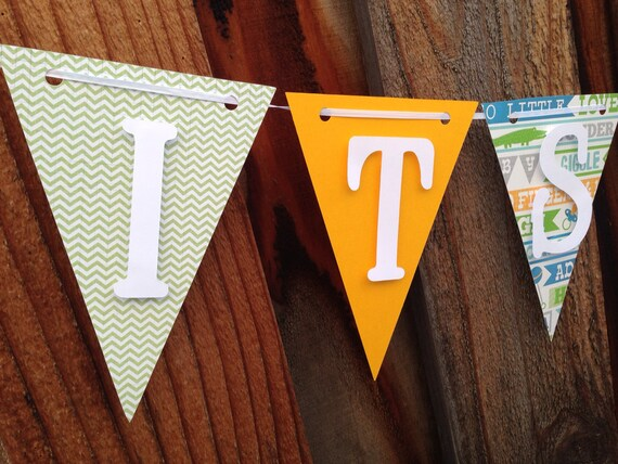 Its a boy banner, baby shower banner, baby shower decorations
